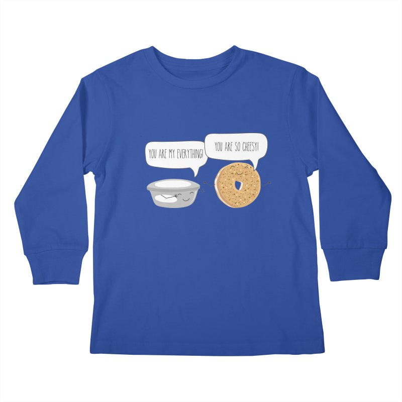 You Are My Everything Kids Longsleeve T-Shirt by CardyHarHar's Artist Shop