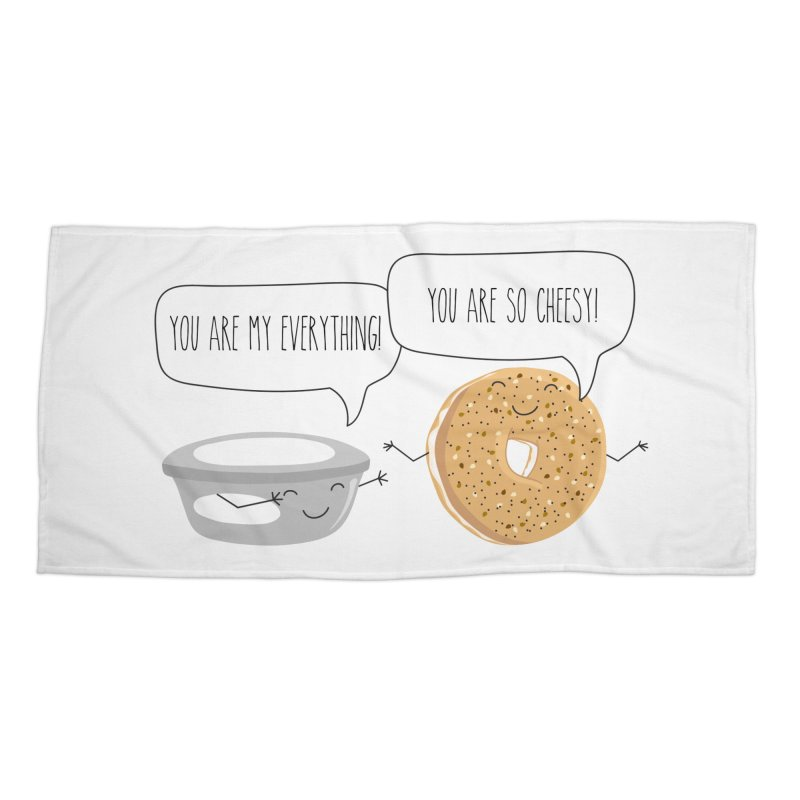 You Are My Everything Accessories Beach Towel by CardyHarHar's Artist Shop