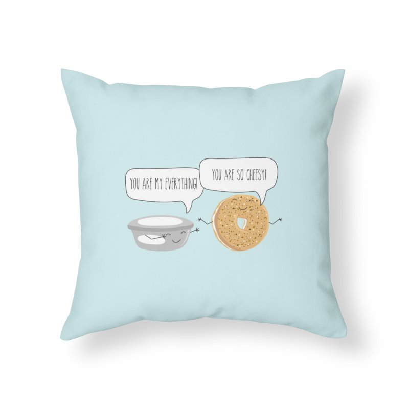 You Are My Everything Home Throw Pillow by CardyHarHar's Artist Shop
