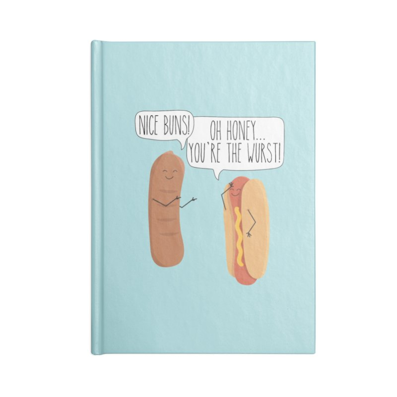 Nice Buns Accessories Notebook by CardyHarHar's Artist Shop