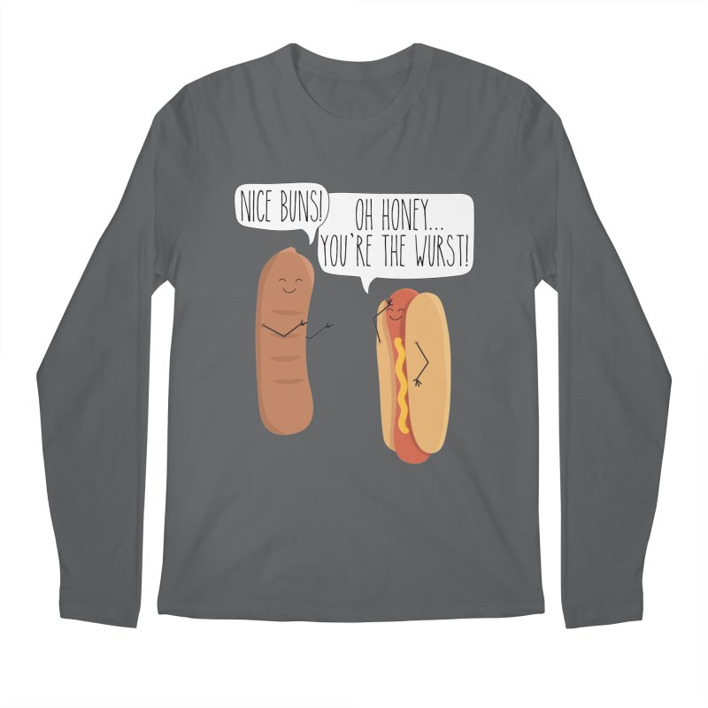 Nice Buns Men's Regular Longsleeve T-Shirt by CardyHarHar's Artist Shop