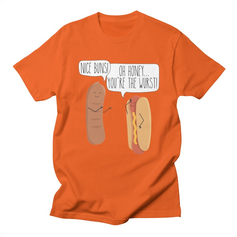 Nice Buns Men's Regular T-Shirt by CardyHarHar's Artist Shop
