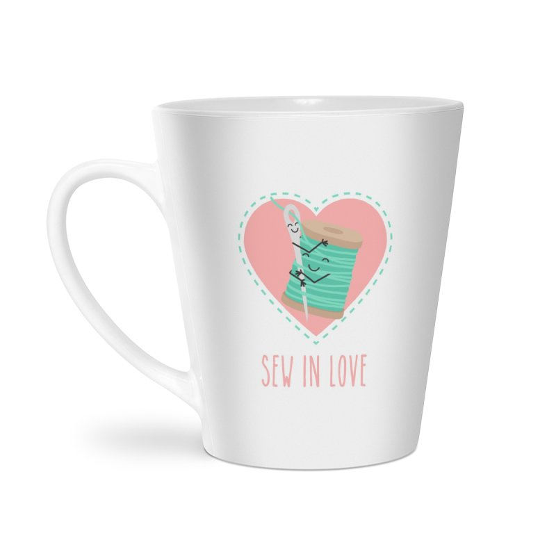 Sew In Love Accessories Latte Mug by CardyHarHar's Artist Shop
