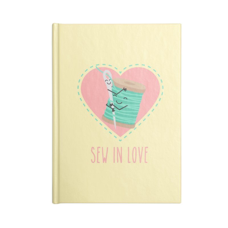 Sew In Love Accessories Notebook by CardyHarHar's Artist Shop