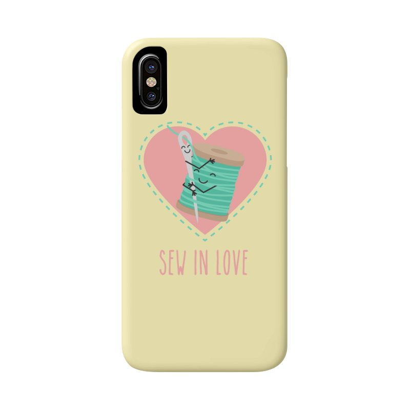 Sew In Love Accessories Phone Case by CardyHarHar's Artist Shop