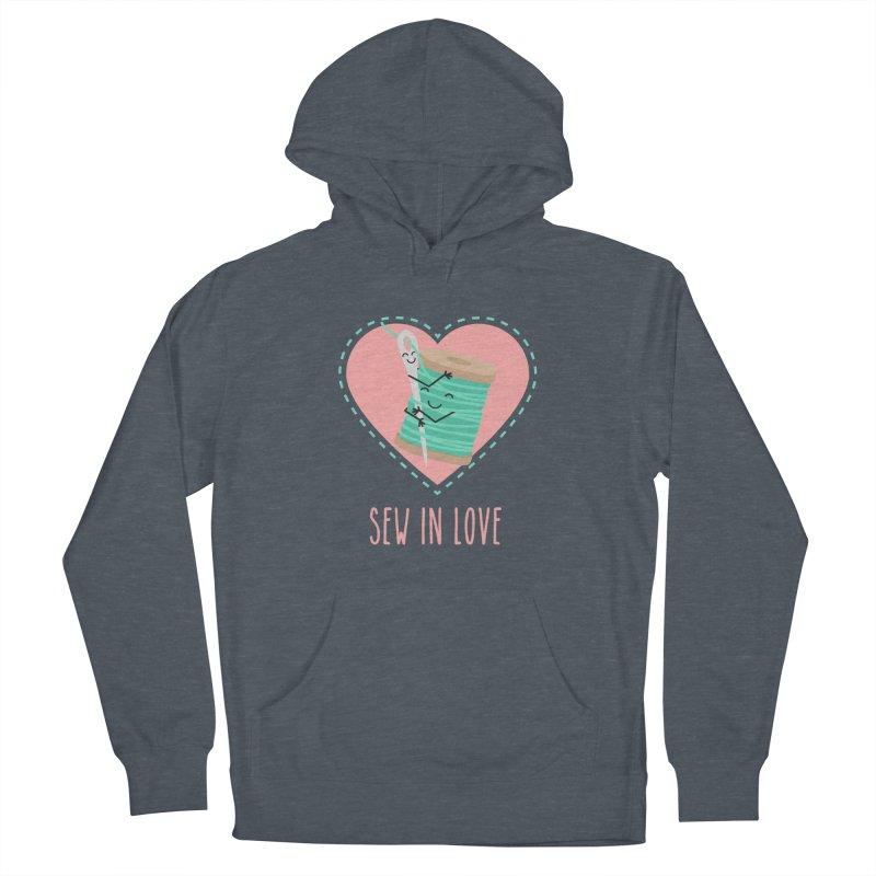 Sew In Love Men's Pullover Hoody by CardyHarHar's Artist Shop