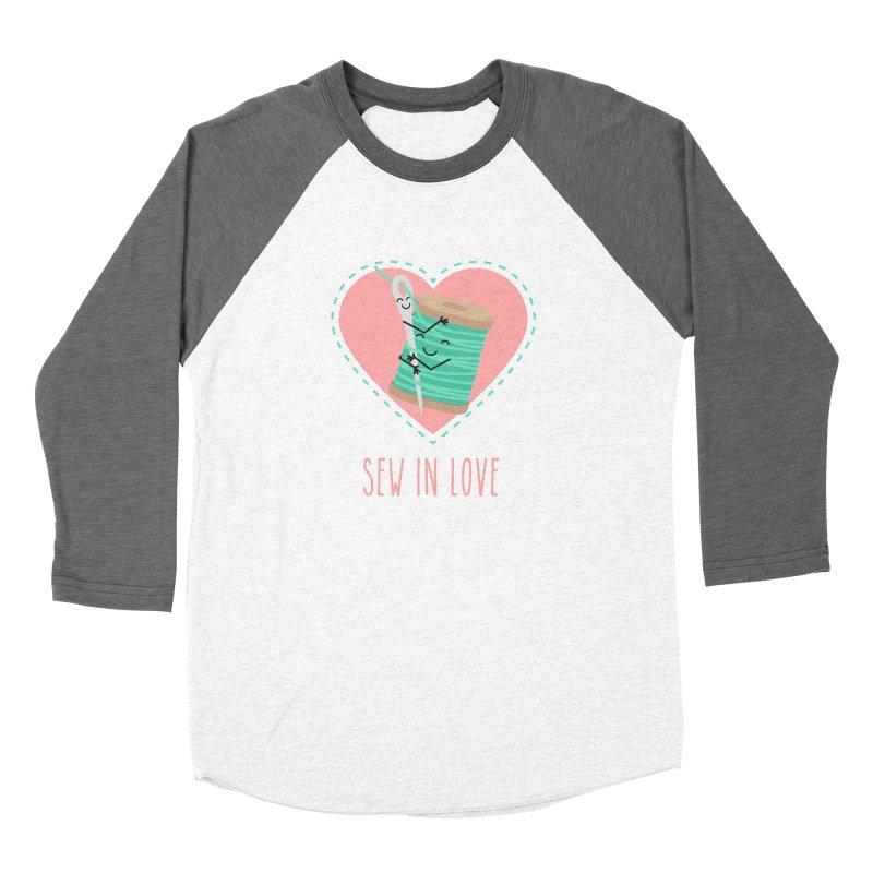 Sew In Love Women's Longsleeve T-Shirt by CardyHarHar's Artist Shop