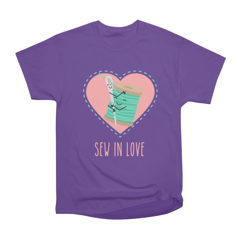 Sew In Love Men's Heavyweight T-Shirt by CardyHarHar's Artist Shop