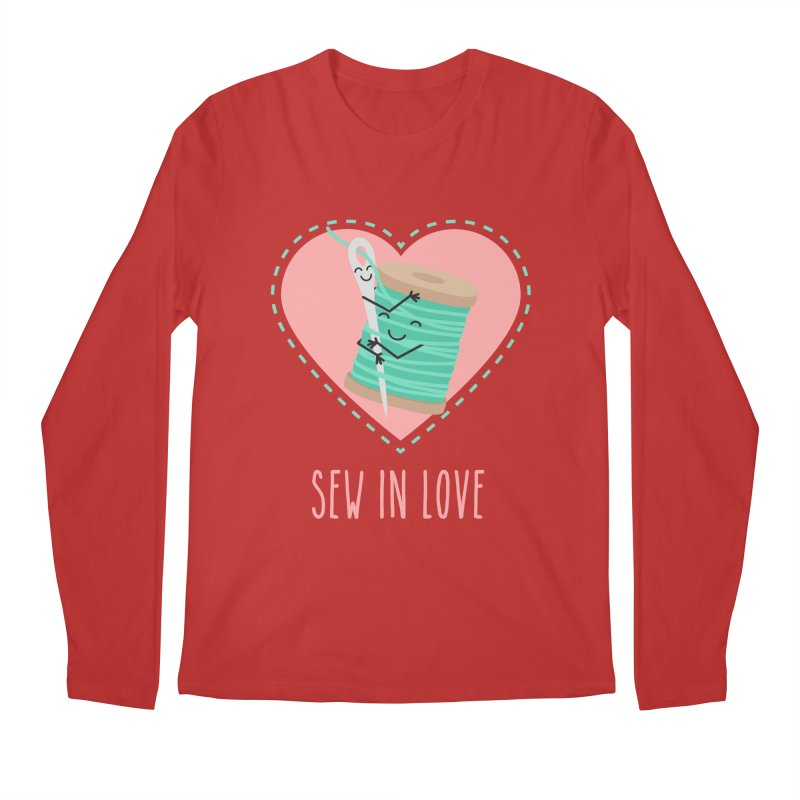 Sew In Love Men's Longsleeve T-Shirt by CardyHarHar's Artist Shop