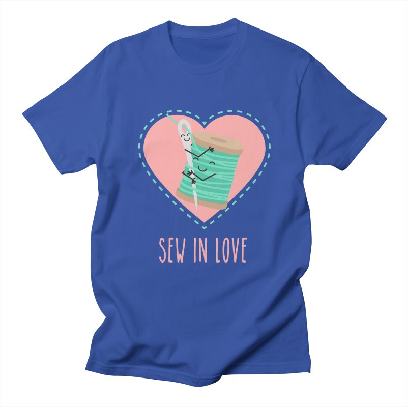 Sew In Love Women's T-Shirt by CardyHarHar's Artist Shop
