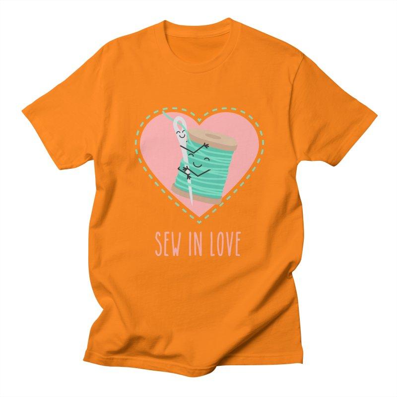 Sew In Love Women's Regular Unisex T-Shirt by CardyHarHar's Artist Shop