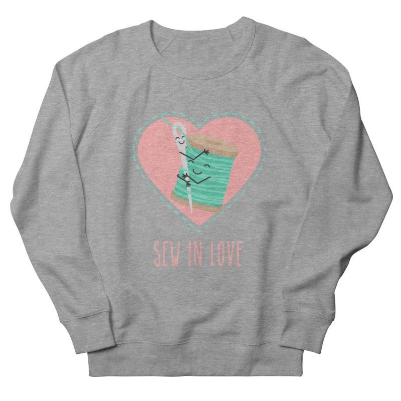 Sew In Love Men's French Terry Sweatshirt by CardyHarHar's Artist Shop