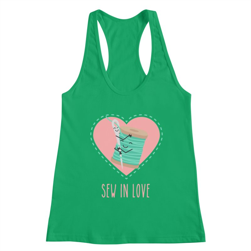 Sew In Love Women's Tank by CardyHarHar's Artist Shop