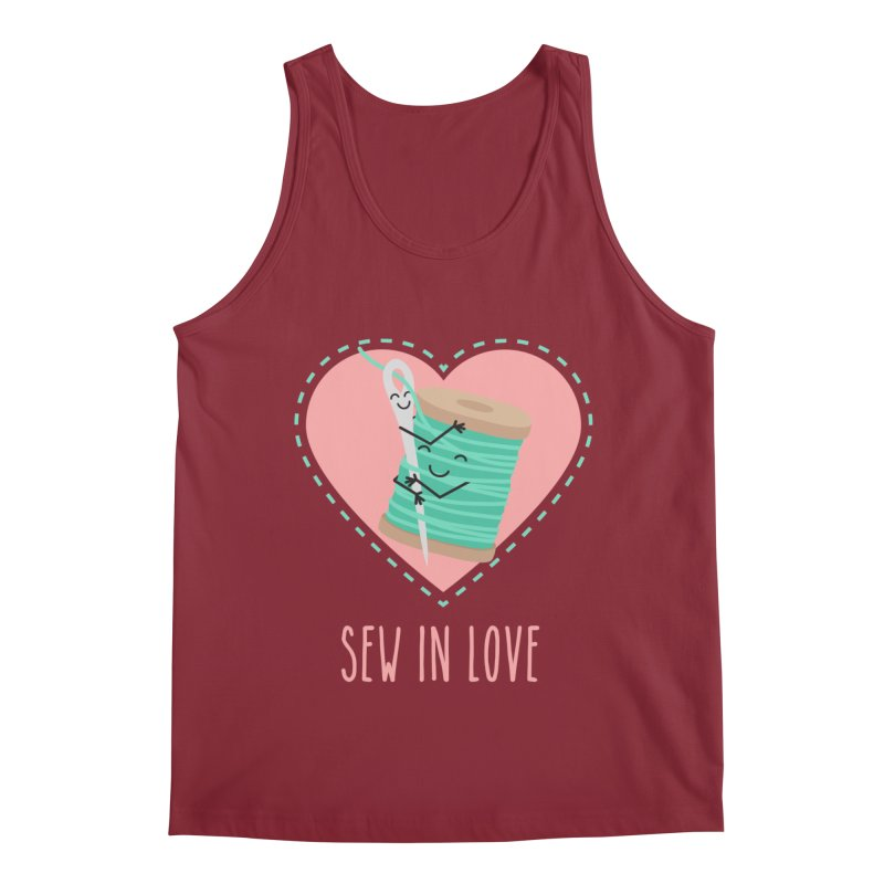 Sew In Love Men's Tank by CardyHarHar's Artist Shop