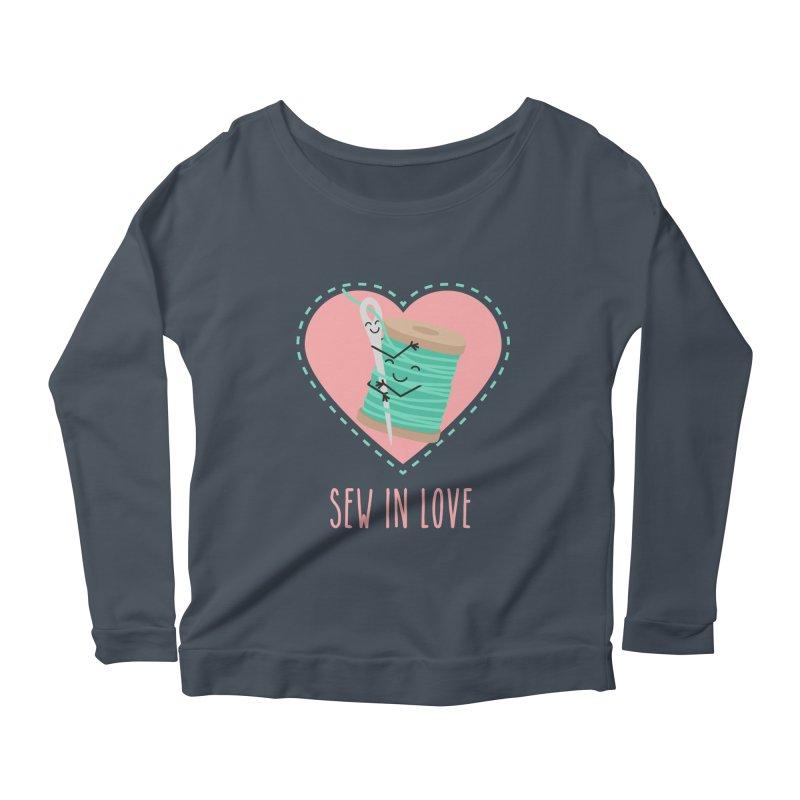 Sew In Love Women's Scoop Neck Longsleeve T-Shirt by CardyHarHar's Artist Shop
