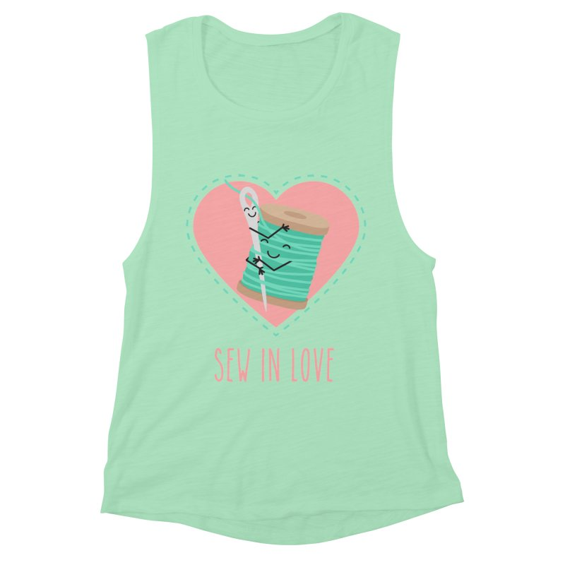 Sew In Love Women's Tank by CardyHarHar's Artist Shop