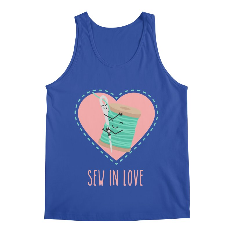 Sew In Love Men's Regular Tank by CardyHarHar's Artist Shop