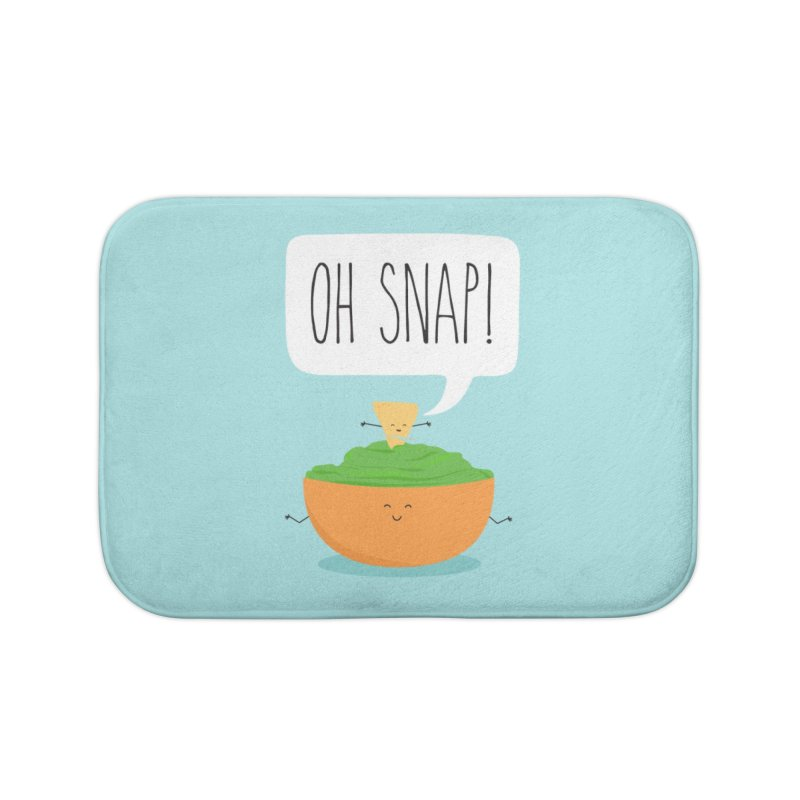 Oh Snap Home Bath Mat by CardyHarHar's Artist Shop
