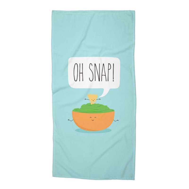 Oh Snap Accessories Beach Towel by CardyHarHar's Artist Shop
