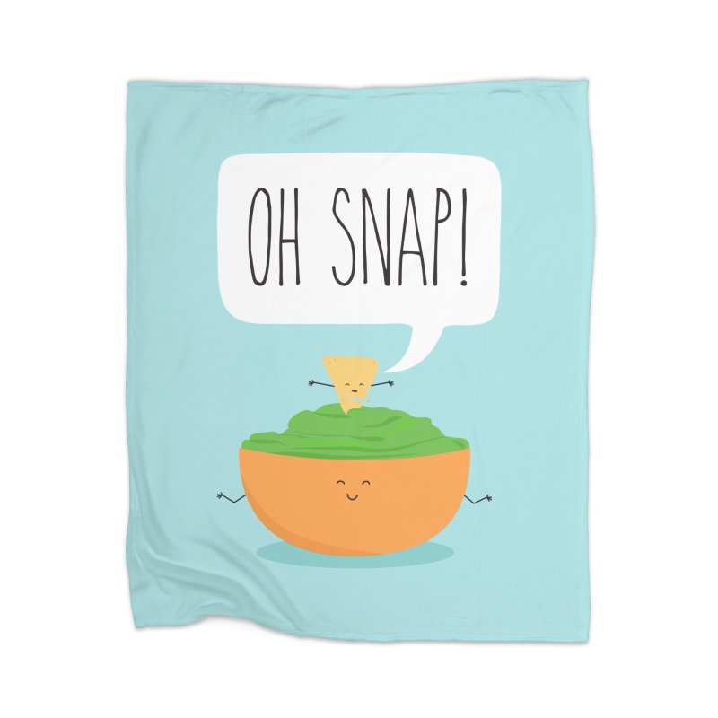 Oh Snap Home Blanket by CardyHarHar's Artist Shop