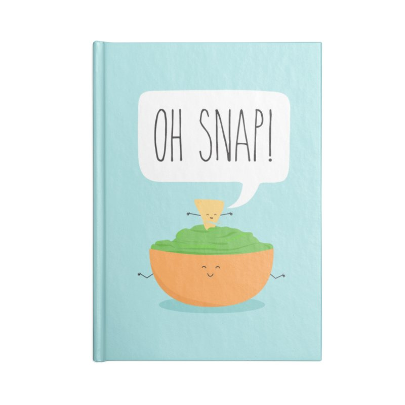 Oh Snap Accessories Notebook by CardyHarHar's Artist Shop