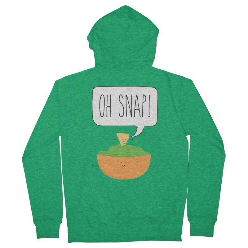 Oh Snap Men's Zip-Up Hoody by CardyHarHar's Artist Shop