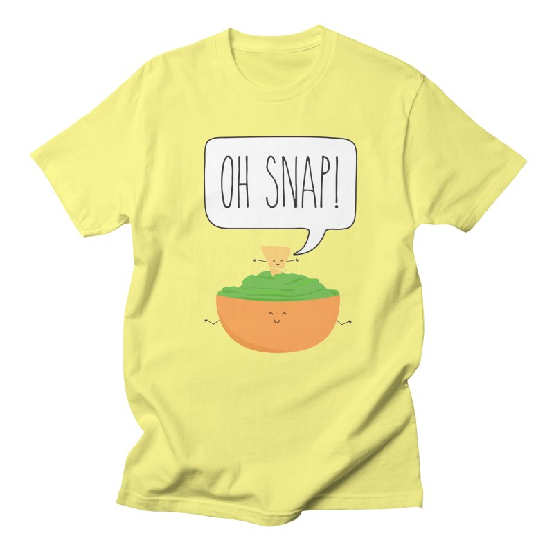 Oh Snap Men's T-Shirt by CardyHarHar's Artist Shop