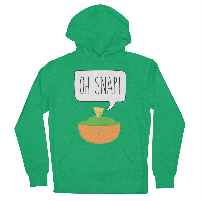 Oh Snap Women's French Terry Pullover Hoody by CardyHarHar's Artist Shop