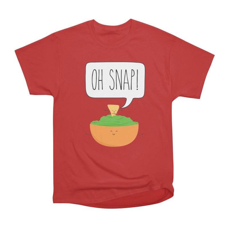 Oh Snap Men's Heavyweight T-Shirt by CardyHarHar's Artist Shop