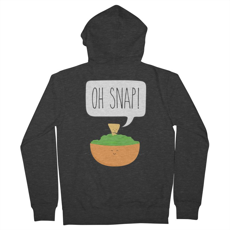 Oh Snap Women's French Terry Zip-Up Hoody by CardyHarHar's Artist Shop