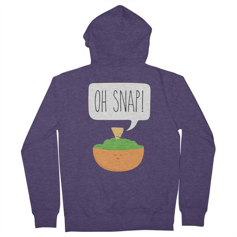 Oh Snap Men's French Terry Zip-Up Hoody by CardyHarHar's Artist Shop