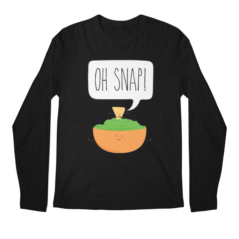 Oh Snap Men's Regular Longsleeve T-Shirt by CardyHarHar's Artist Shop