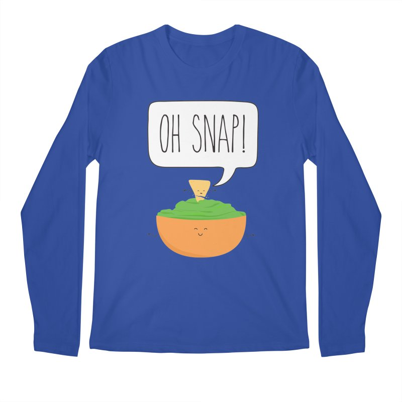 Oh Snap Men's Regular Longsleeve T-Shirt by CardyHarHar's Artist Shop
