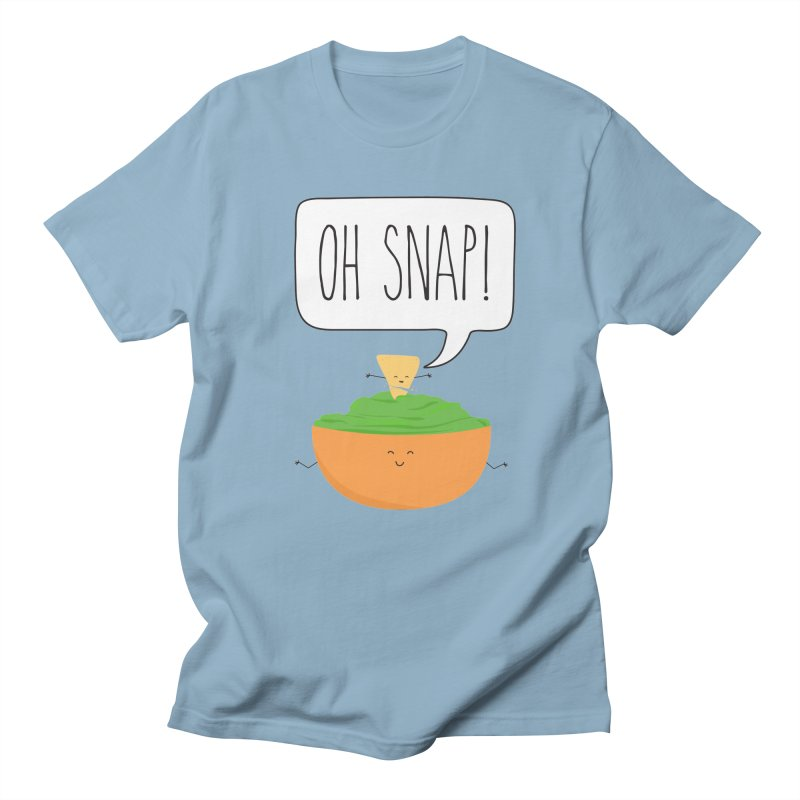 Oh Snap Men's Regular T-Shirt by CardyHarHar's Artist Shop