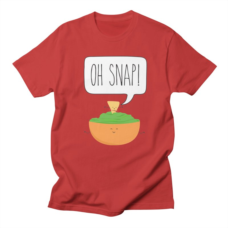 Oh Snap Men's Regular T-Shirt by CardyHarHar's Artist Shop