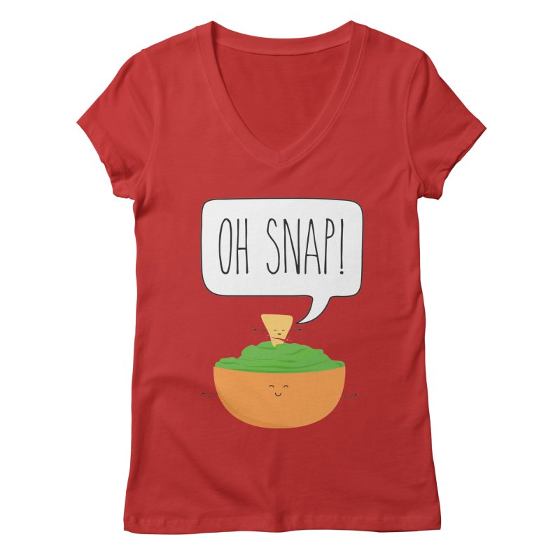 Oh Snap Women's Regular V-Neck by CardyHarHar's Artist Shop