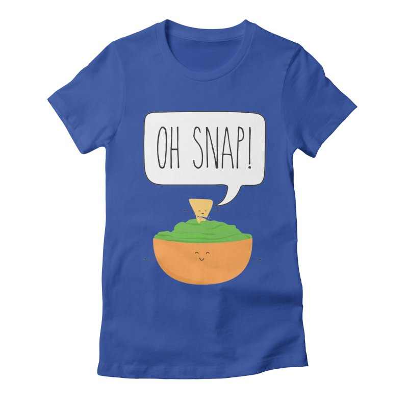 Oh Snap Women's Fitted T-Shirt by CardyHarHar's Artist Shop