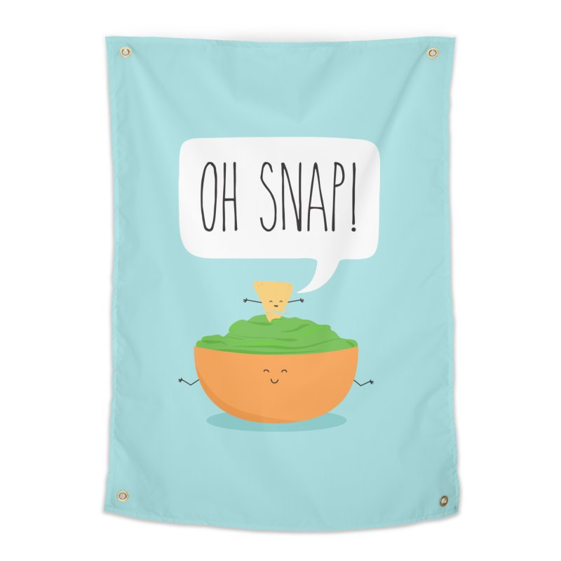 Oh Snap Home Tapestry by CardyHarHar's Artist Shop