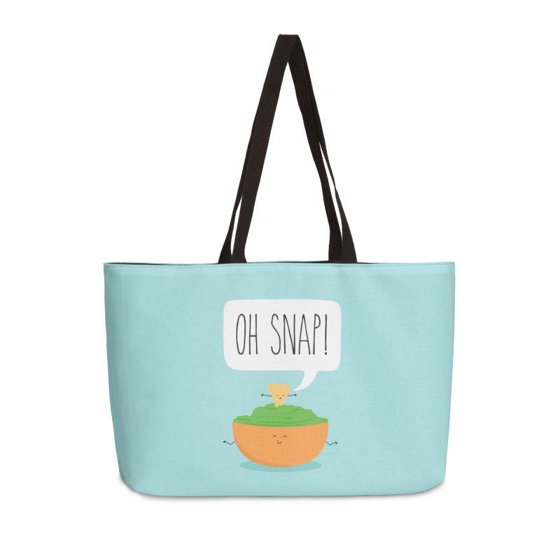 Oh Snap Accessories Weekender Bag Bag by CardyHarHar's Artist Shop
