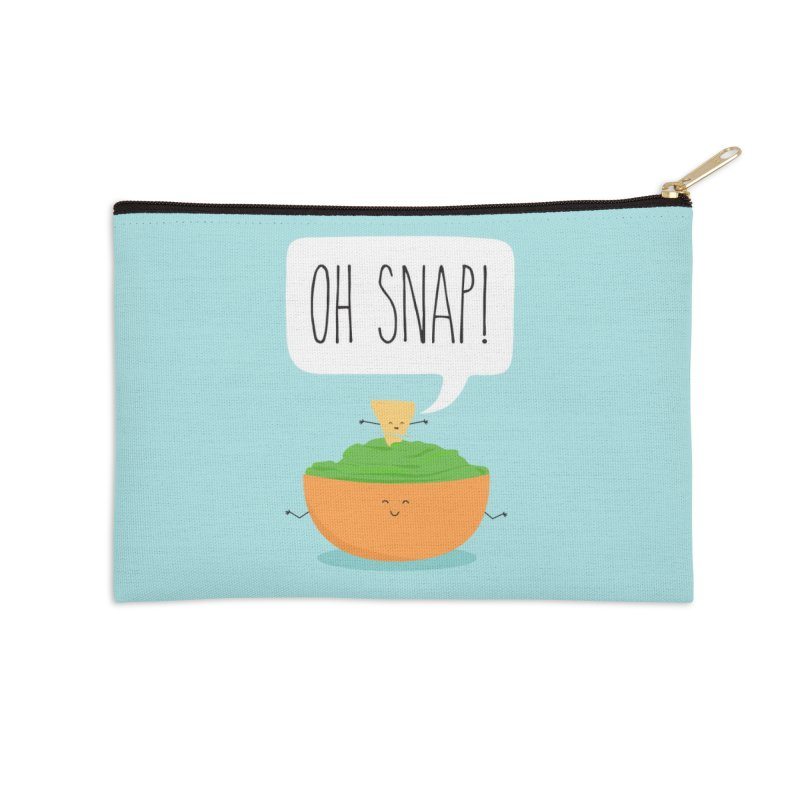 Oh Snap Accessories Zip Pouch by CardyHarHar's Artist Shop