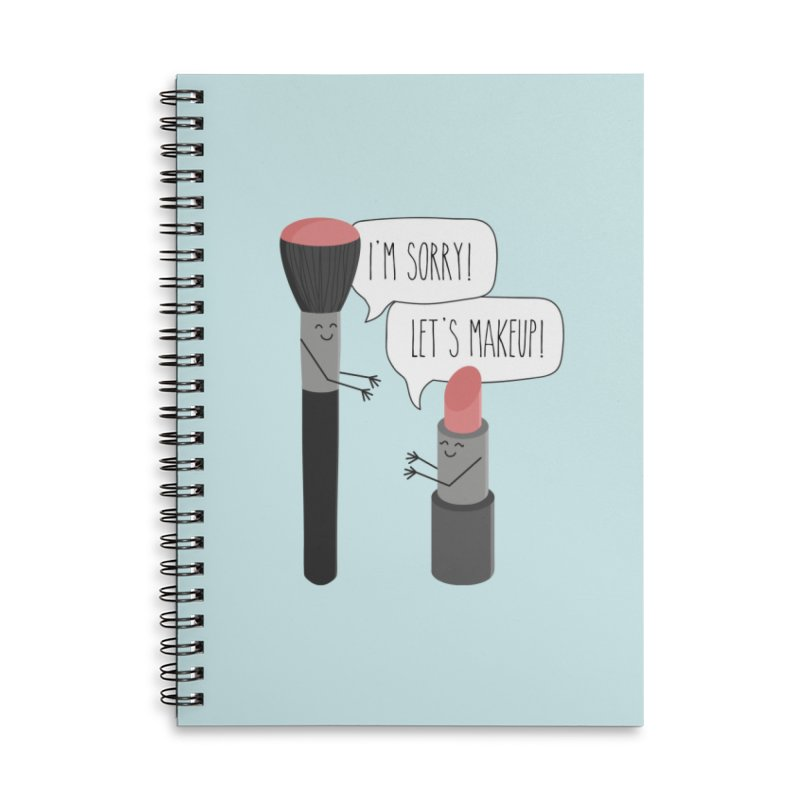 Let's Makeup Accessories Notebook by CardyHarHar's Artist Shop