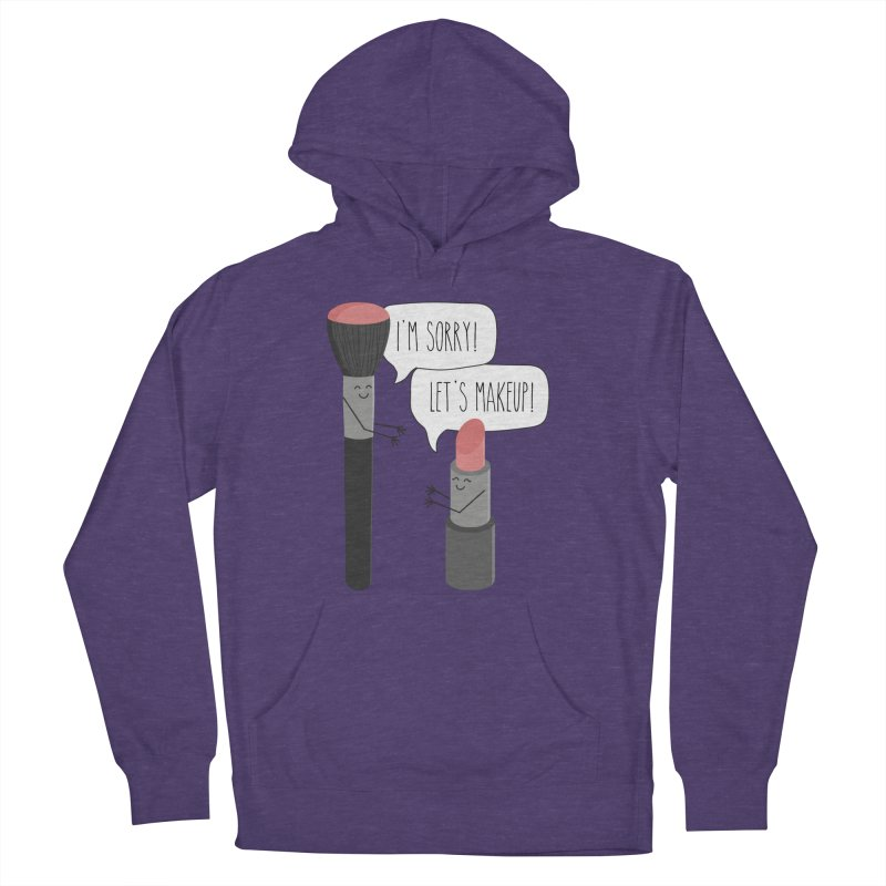Let's Makeup Men's Pullover Hoody by CardyHarHar's Artist Shop