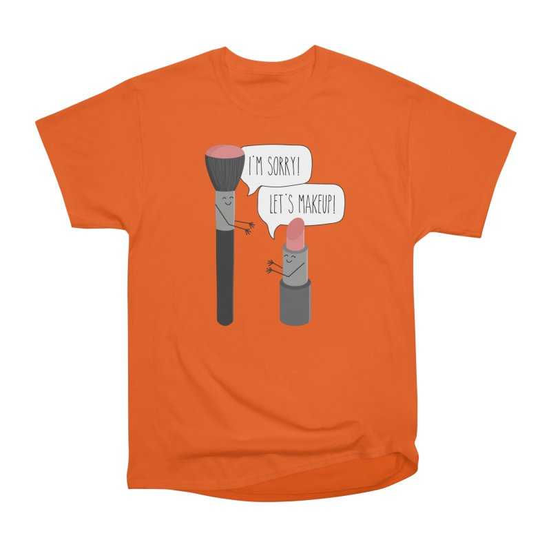 Let's Makeup Men's T-Shirt by CardyHarHar's Artist Shop