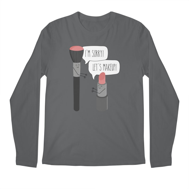 Let's Makeup Men's Longsleeve T-Shirt by CardyHarHar's Artist Shop