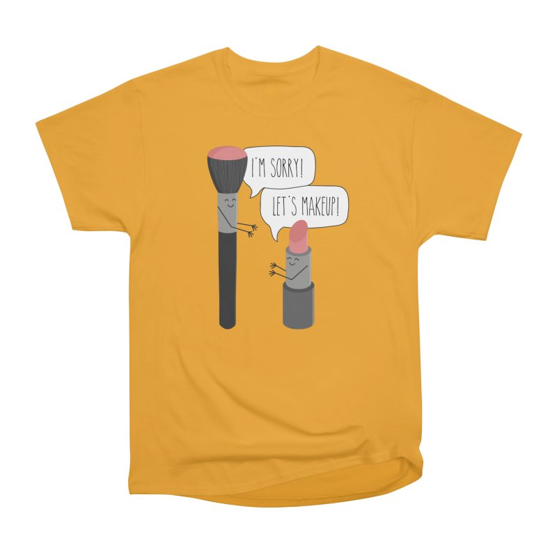 Let's Makeup Women's Heavyweight Unisex T-Shirt by CardyHarHar's Artist Shop