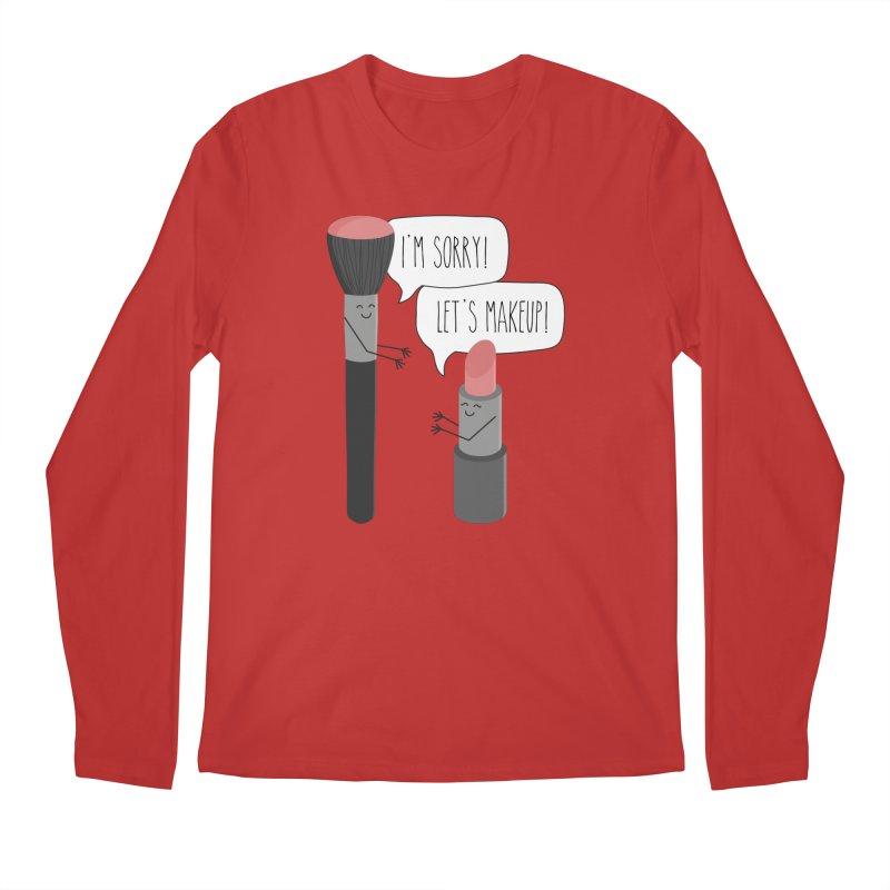 Let's Makeup Men's Regular Longsleeve T-Shirt by CardyHarHar's Artist Shop