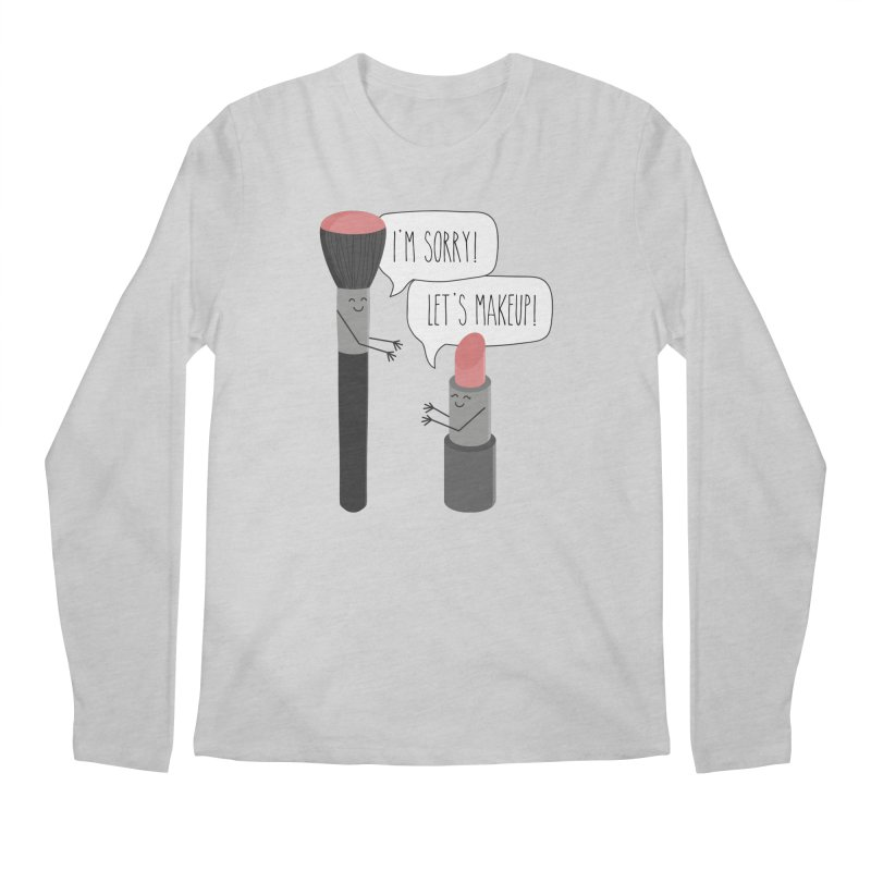 Let's Makeup Men's Regular Longsleeve T-Shirt by CardyHarHar's Artist Shop