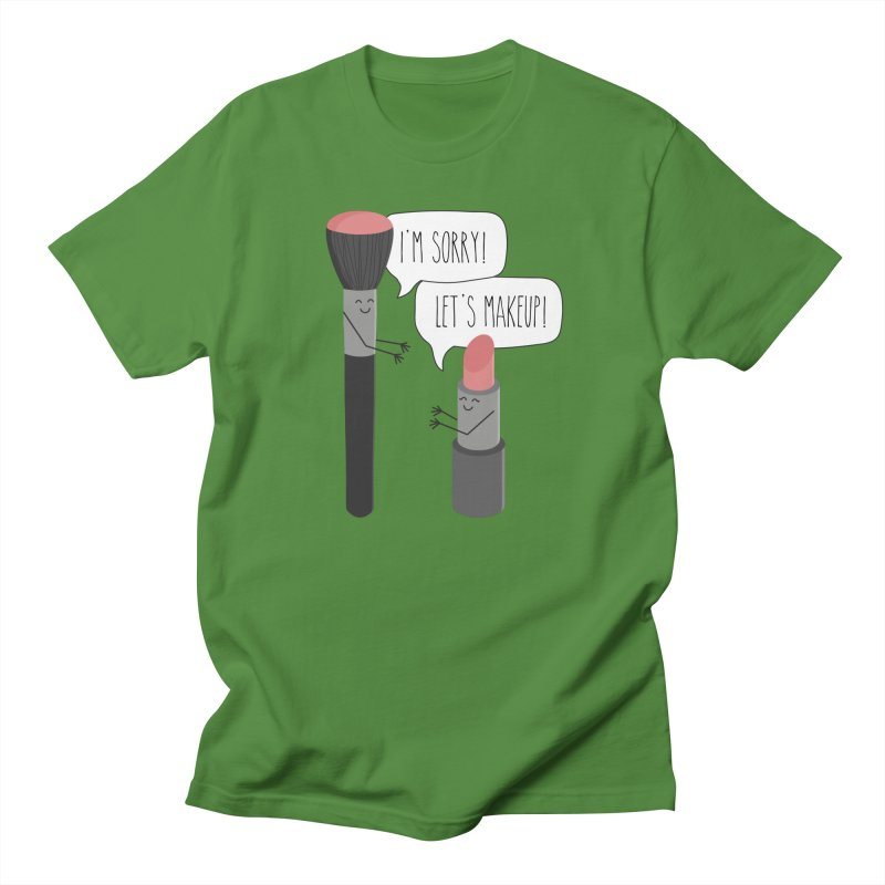 Let's Makeup Men's Regular T-Shirt by CardyHarHar's Artist Shop