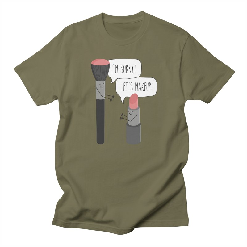 Let's Makeup Men's T-Shirt by CardyHarHar's Artist Shop