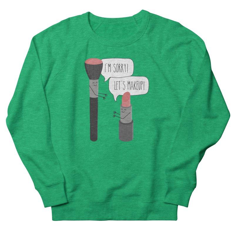 Let's Makeup Women's Sweatshirt by CardyHarHar's Artist Shop